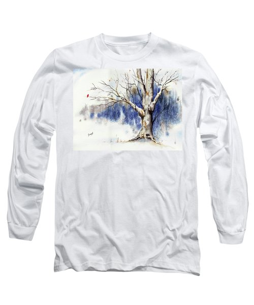 Untitled Winter Tree Long Sleeve T-Shirt