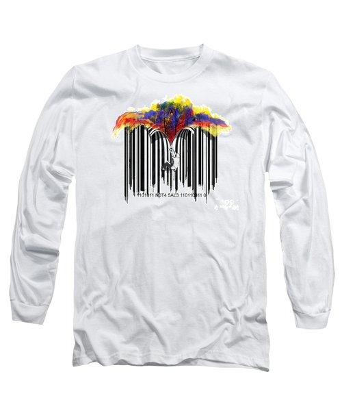 Unzip The Colour Code Long Sleeve T-Shirt