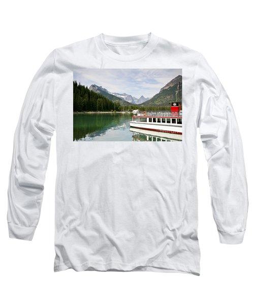 Upper Waterton Lakes Long Sleeve T-Shirt by Teresa Zieba