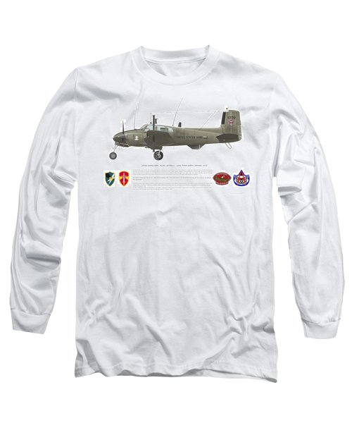 U.s. Army Ru-8d 146th Long Sleeve T-Shirt