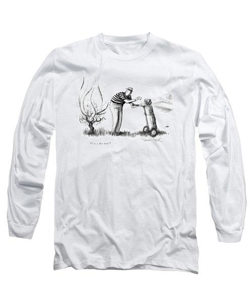 Use A Five Iron! Long Sleeve T-Shirt