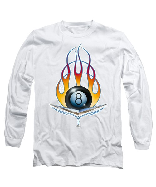 V 8 Long Sleeve T-Shirt