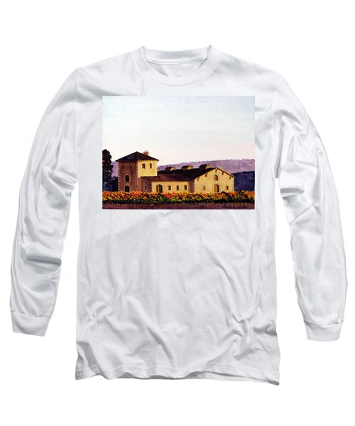 V. Sattui Winery Long Sleeve T-Shirt by Mike Robles