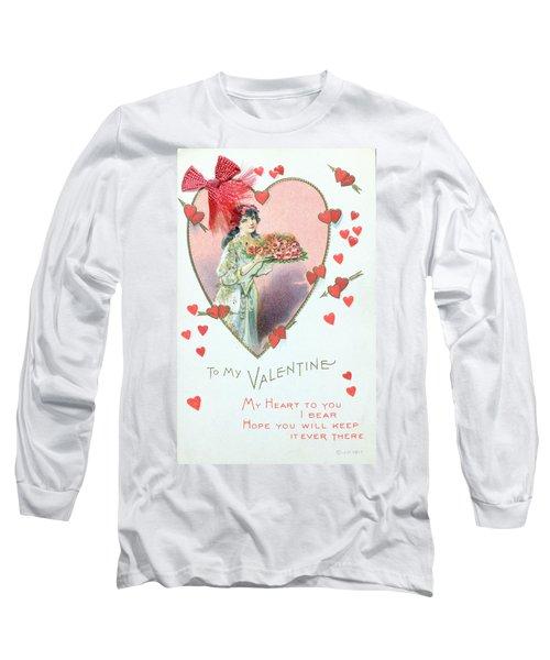 Valentine Card Long Sleeve T-Shirt