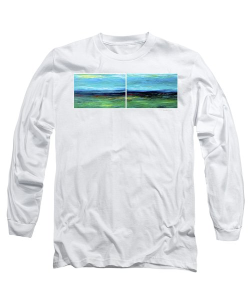 Vast Horizon Long Sleeve T-Shirt by Dick Bourgault