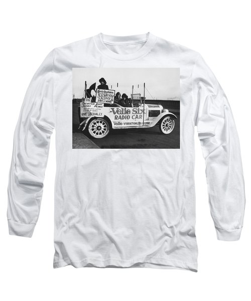 Velie Six Radio Car Long Sleeve T-Shirt