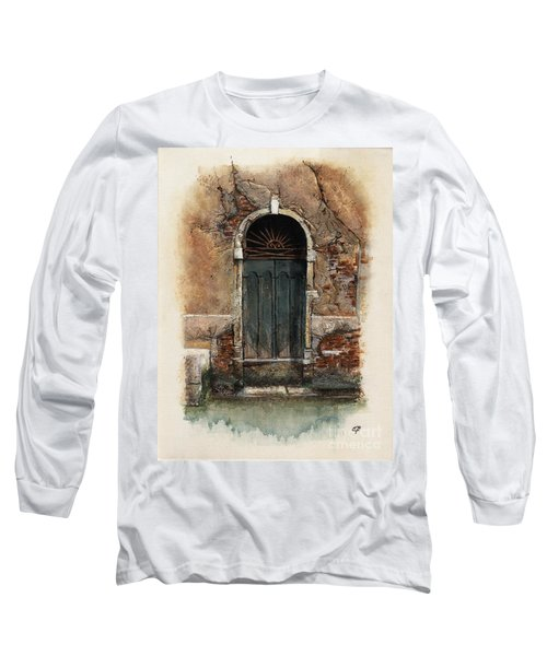 Venetian Door 01 Elena Yakubovich Long Sleeve T-Shirt
