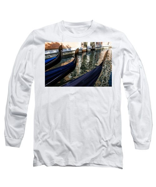 Venetian Gondolas Long Sleeve T-Shirt