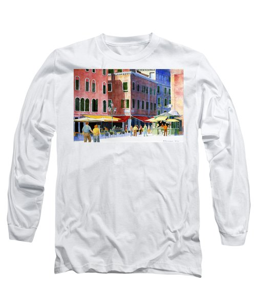 Venetian Piazza Long Sleeve T-Shirt