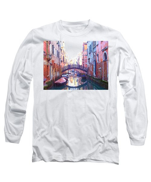 Venetian Reflections Long Sleeve T-Shirt