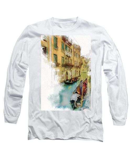 Venice 1 Long Sleeve T-Shirt by Greg Collins