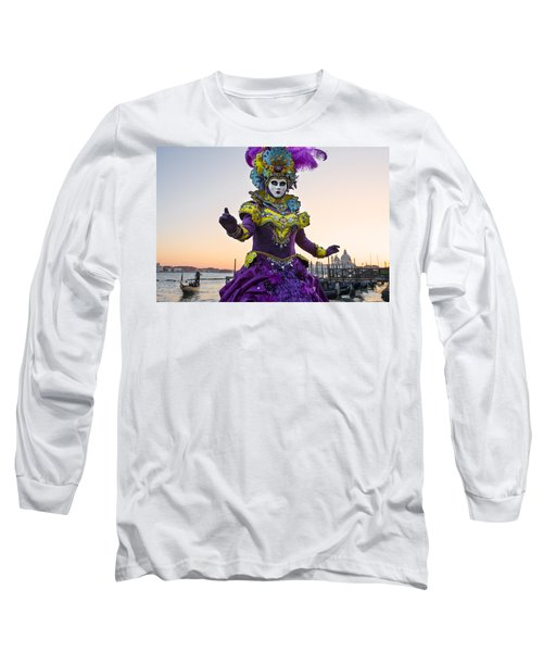 Venice Carnival Iv Long Sleeve T-Shirt