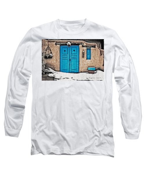 Very Blue Door Long Sleeve T-Shirt