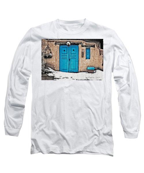 Very Blue Door Long Sleeve T-Shirt