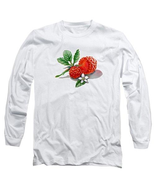 Artz Vitamins A Very Happy Raspberry Long Sleeve T-Shirt