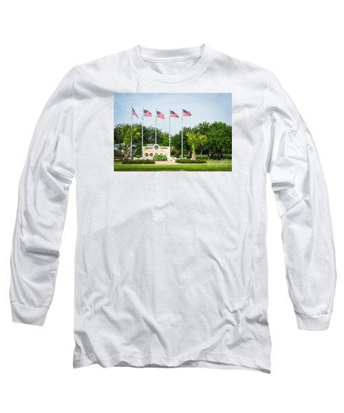 Veterans Memorial Laguna Vista Texas Long Sleeve T-Shirt