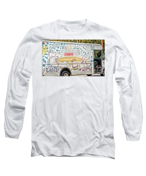 Vic And Nat'ly And The Leidenheimer Po-boy Truck - New Orleans Long Sleeve T-Shirt