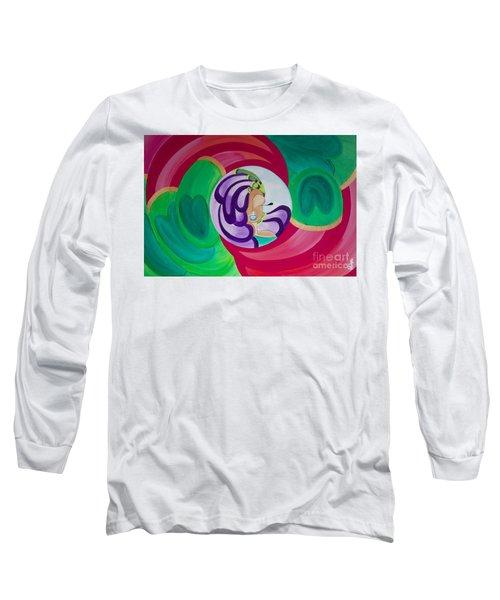 Victoria Peacock Long Sleeve T-Shirt