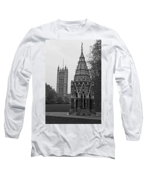 Long Sleeve T-Shirt featuring the photograph Victoria Tower Garden by Maj Seda
