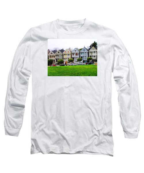 San Francisco Architecture Long Sleeve T-Shirt by Oleg Zavarzin