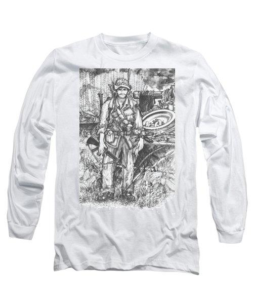 Vietnam Soldier Long Sleeve T-Shirt