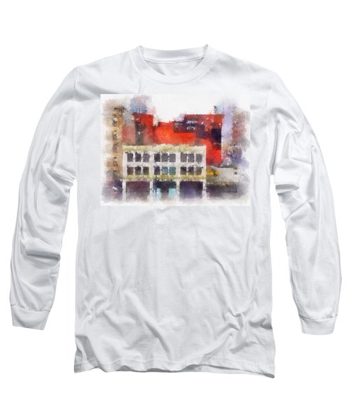 View From A New York Window Long Sleeve T-Shirt