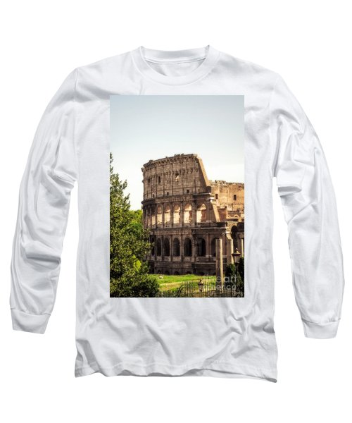 View Of Colosseum Long Sleeve T-Shirt