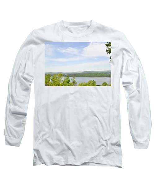 View Of The Mountains Of Alabama Long Sleeve T-Shirt by Verana Stark