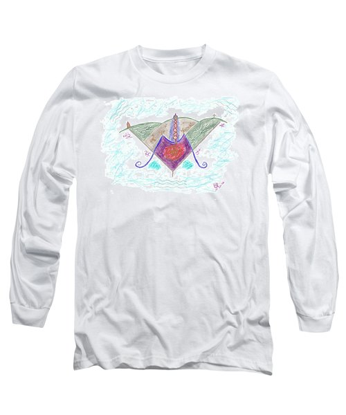Ville-marie - Montreal Long Sleeve T-Shirt by Mark David Gerson