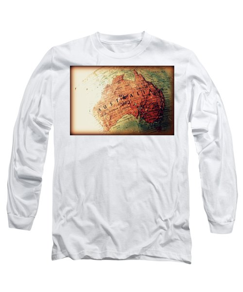 Long Sleeve T-Shirt featuring the photograph Vintage Australia by Faith Williams