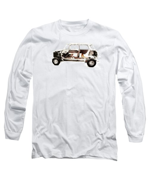 Vintage Car  Long Sleeve T-Shirt by Gina Dsgn