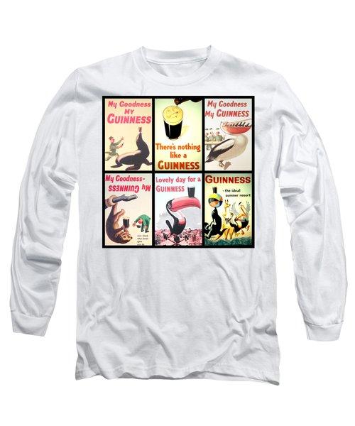 Vintage Guinness  Long Sleeve T-Shirt