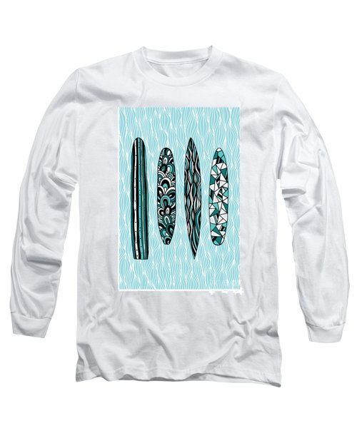 Vintage Surfboards Part1 Long Sleeve T-Shirt
