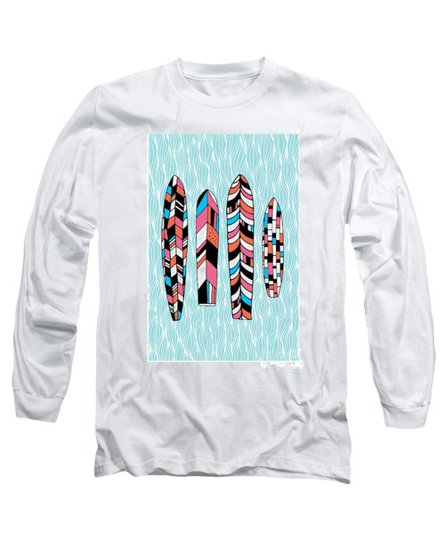 Vintage Surfboards Part2 Long Sleeve T-Shirt