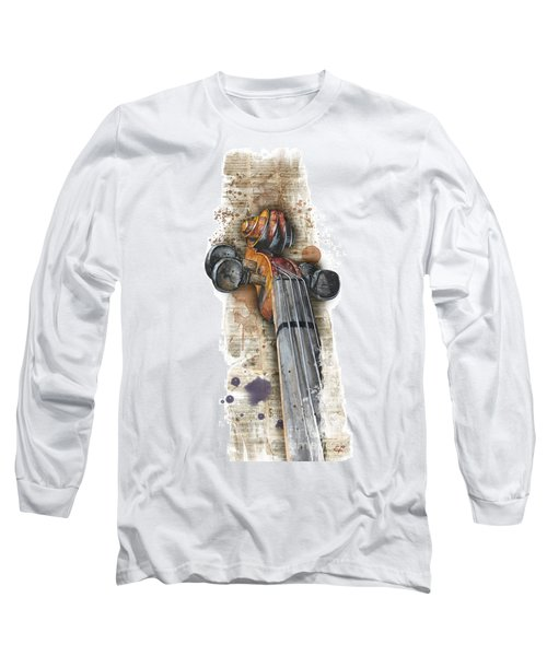 Violin 01 Elena Yakubovich Long Sleeve T-Shirt