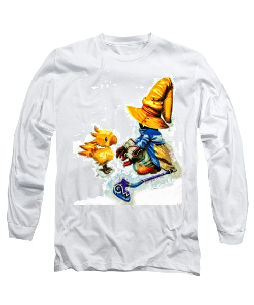 Vivi And The Chocobo Long Sleeve T-Shirt
