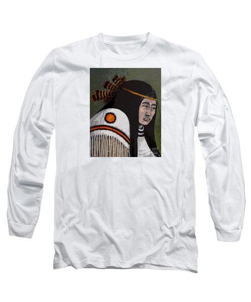 Wabanaki Warrior Long Sleeve T-Shirt