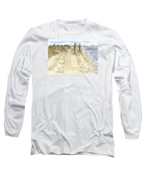 Waiting For A Catch Long Sleeve T-Shirt