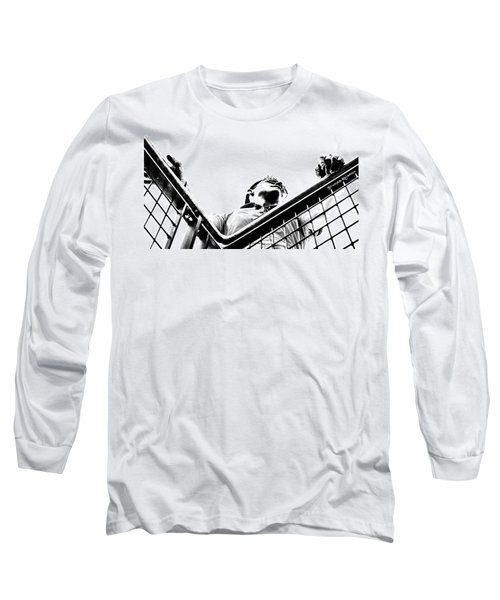 Long Sleeve T-Shirt featuring the photograph Waiting For The Future by Stwayne Keubrick
