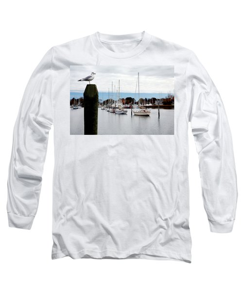 Waiting For Sandy Long Sleeve T-Shirt