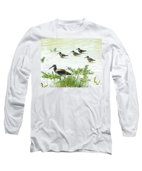 Waiting For The Tide To Change Long Sleeve T-Shirt