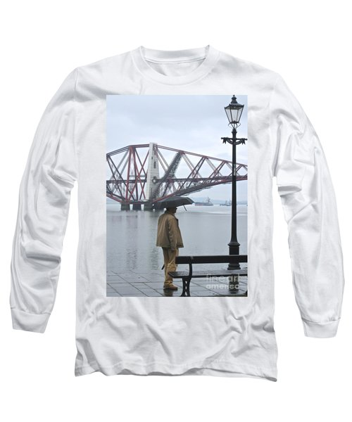 Waiting On High Street Long Sleeve T-Shirt by Suzanne Oesterling