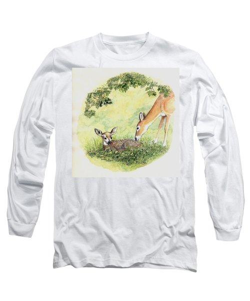 Wake Up Sleepyhead Long Sleeve T-Shirt by Duane R Probus