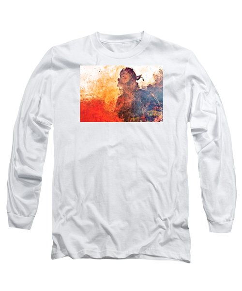 Walk Through Hell Long Sleeve T-Shirt by Everet Regal