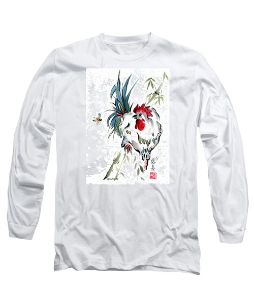 Long Sleeve T-Shirt featuring the painting Walkabout by Bill Searle