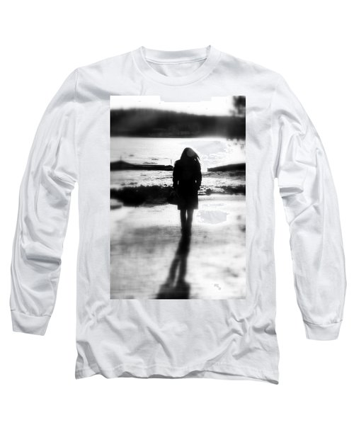 Walking Alone Long Sleeve T-Shirt by Valentino Visentini