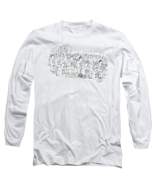 Walking In A Parade Long Sleeve T-Shirt