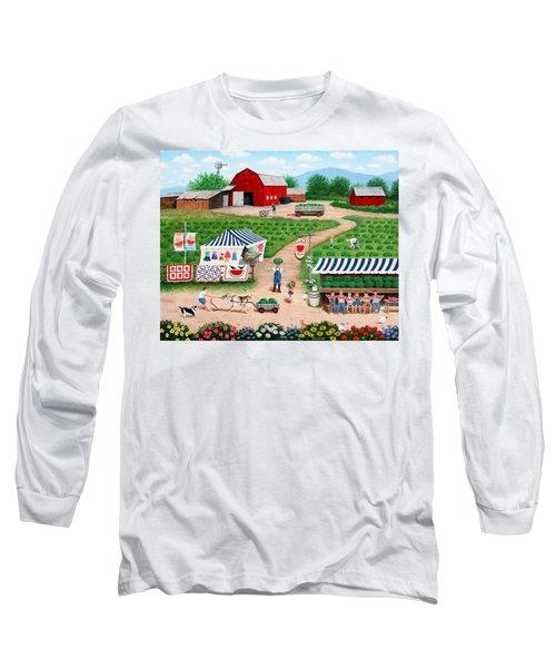 Walter's Watermelons Long Sleeve T-Shirt