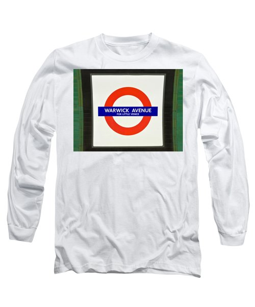 Long Sleeve T-Shirt featuring the photograph Warwick Station by Keith Armstrong