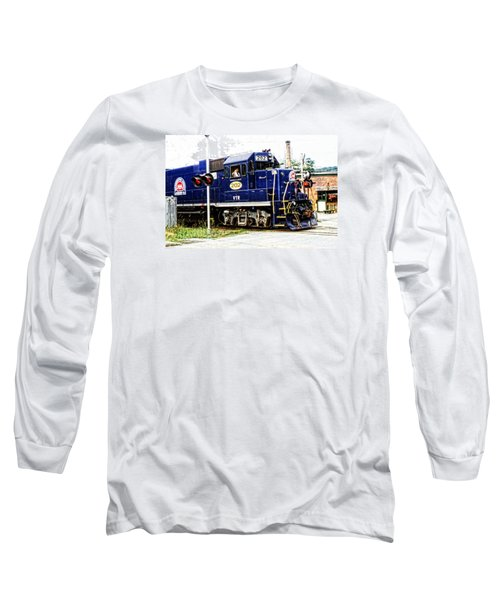 Long Sleeve T-Shirt featuring the photograph Washington County Railroad by Mike Martin